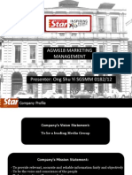 AGW618 Marketing Management - The Star Newspaper
