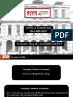 AGW618 Marketing Management - The Star Newspaper