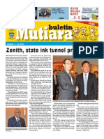 Buletin Mutiara October #1 - mixed languages