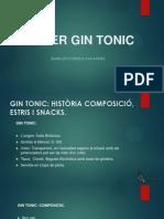 PRESENTACIÓ GIN TONIC