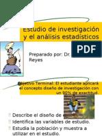 Diseño del estudio de investigación y el análisis2