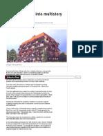 Changing Slums Into Multistory Kampung _ the Jakarta Post