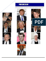 Apprentice picture quiz with answers