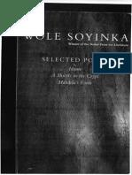Soyinka Poems