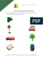 Go Togethers Worksheet1