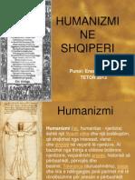 Humanizmi Ne Shqiperi