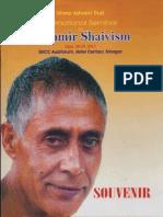 International Seminar on Kashmir Shaivism Sept 28-29 2013