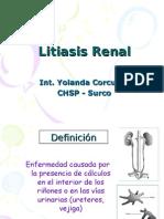 Litiasis Renal - Modificado