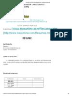 Online Support Engineer Linux Sample Resume
