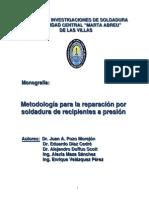 48751520 Metodologia Reparacion Soldadura Recipientes Presion