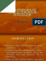 Unmanned Ground Vehicle Perceptor Integrator
