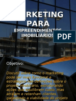 Marketing Empreendimentos Imobiliarios
