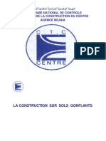 Construction Sur Sols Gonflants