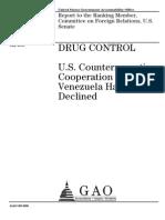 GAO Drug Control