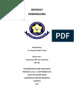 Referat Hemangioma- Pusparasmi m.a.s (09-156)