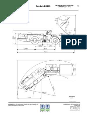 LH 203 | Transmission (Mechanics) | Brake