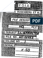FBI Silvermaster File, Section 01