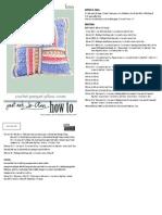 P131282 Crochet Parquet Pillow Cover