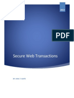 Assignment No 6 Secure Web Transaction
