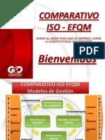 Comparativo ISO EFQM