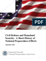 2006 Fema Civil Defense and Homeland Security 36p