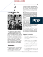 2005 FEMA National Security Emergencies 14p