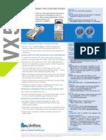VeriFone VX520 Data Sheet