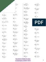 Ejercicios de integrales por el método de sustitución
