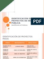 Sistema Nacional de Inversión Publica identificacion s