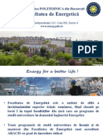 Prezentare Energetica Admitere 2013 New