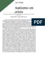 El Dogmatismo en Crisis