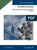 Grundfosliterature E Pumps GB L