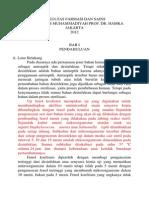 Pembahasan Uji Koefisien Fenol