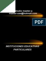 CENTROS EDUCATIVOS TRIBUTACION