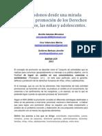 Ensayo de Promoción MAENA III-2013