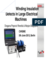 Locating Winding Insulation Defects in Large Electrical Machines