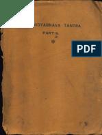 Shri Vidyarnava Tantra II - Ram Chandra Kak and Harbhatta Shastri 1937