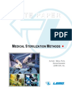 Medical Sterilization techniques