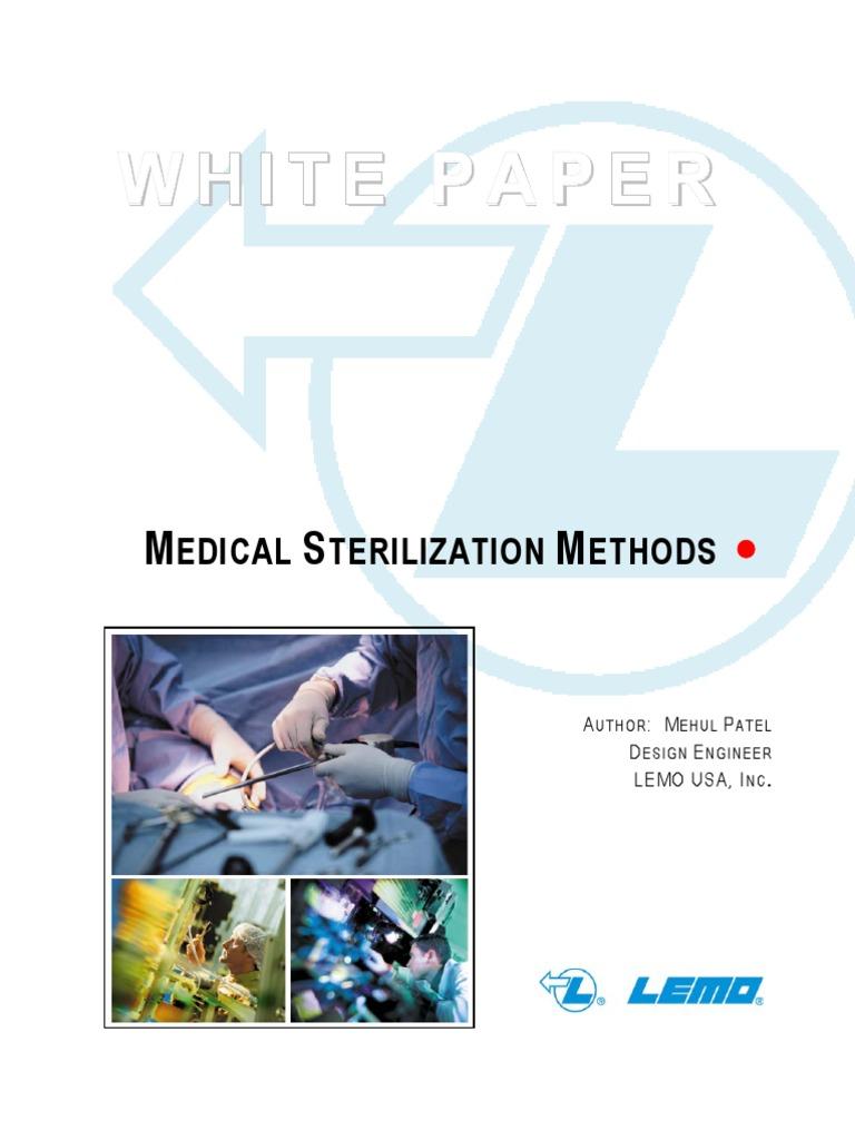 Medical Sterilization Techniques Sterilization Microbiology