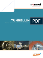 Normet Tunnelling Brochure 0613