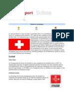 Le Sport en Suisse