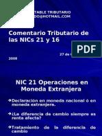 MASTER-A NIC 21 Y NIC 16