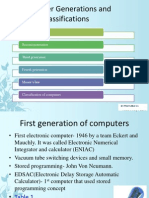 Computer Generations and Classifications