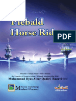 Piebald Horse Rider, Muhammad Ilyas Qadri