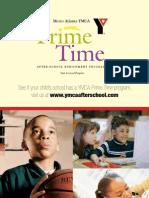 MetroAtlantaYMCAPrimeTime(AfterSchool)Brochure