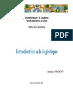Cours Introduction Ã_ la logistique