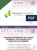PROPUESTA  DE INTEGRACIÓN DE CONSEJO CIUDADANO.
