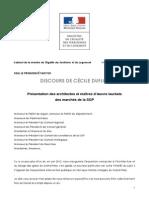 130930 Discours Cecile Duflot SGP