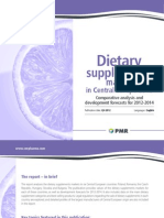 Leaflet - Dietary Supplements Market in Central Europe 2012