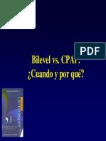 Bilevel vs CPAP